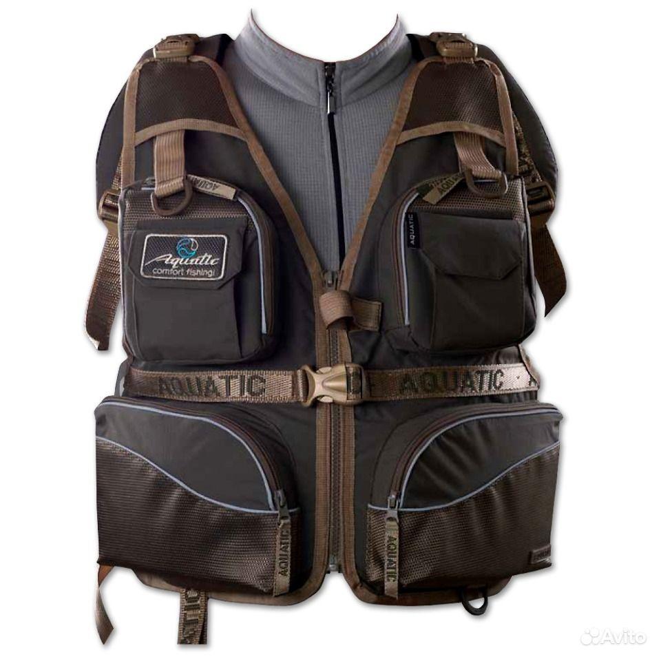 рюкзак aquatic 50л рыболовный 5 изол карманов уплотненная спина р-50
