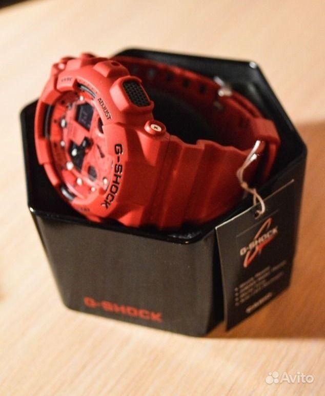 Casio G-Shock GA-100C-4A RED.  Санкт-Петербург