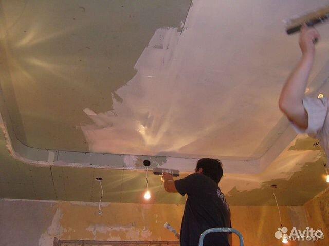 Где Потолок из гипсокартона Реставрация кнСтапКак сделать