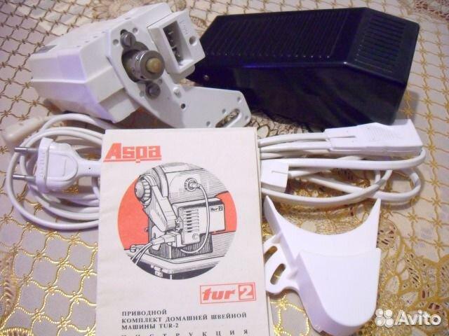 схема подключения швейной машинки с электроприводом tur2