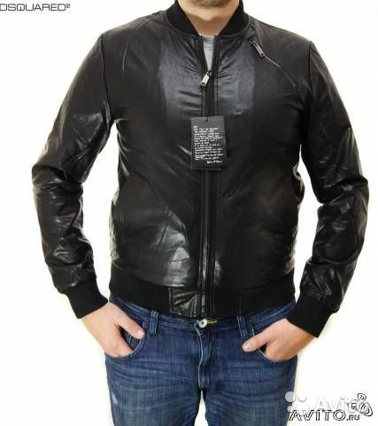 Кожаная Куртка Dsquared