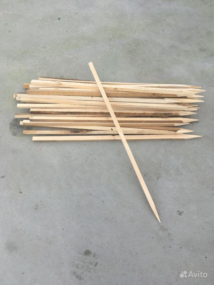 Колышки деревянные 20*25*1000 купить на Зозу.ру - фотография № 1