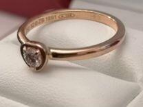 Cartier Diamond Leger de Cartier золотое кольцо