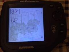 видео эхолота matrix 47 3d