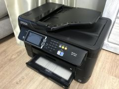 Мфу Epson WorkForce WF-7620dtwf Б/У