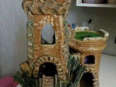Домик для аквариума