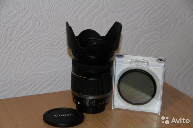 Canon EF-S 18-200mm f/3.5-5.6