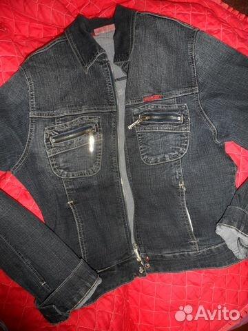 14a8359e8d233f7 Продам джинсовую куртку купить в Красноярском крае на Avito ...