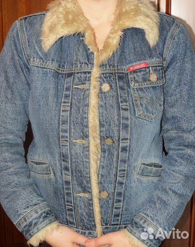 d186dd988f29 Джинсовая куртка   Festima.Ru - Мониторинг объявлений