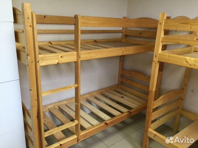 Двухъярусная кровать   бу