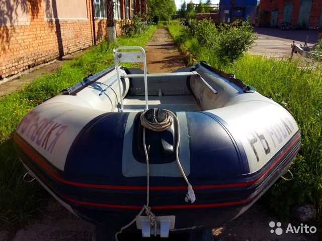 объявления продаю б-у лодку пвх