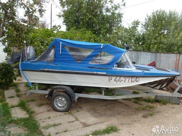купить бу лодку с мотором в самарской обл