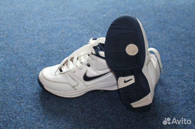 9582e0ae Брендовые кожаные кроссовки Nike, высокие купить в Белгородской ...