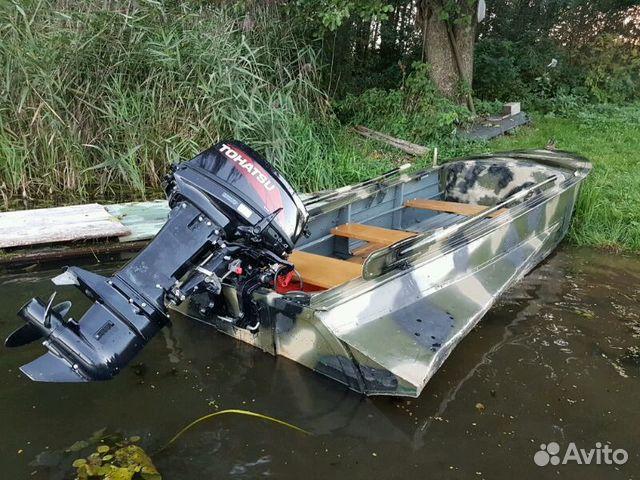 цена на лодку казанка с мотором