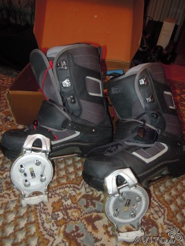 b6254dce35c8 Крепления для сноуборда Switch тип N купить в Москве на Avito ...