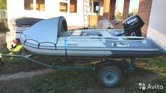 прицеп для пвх лодки 330