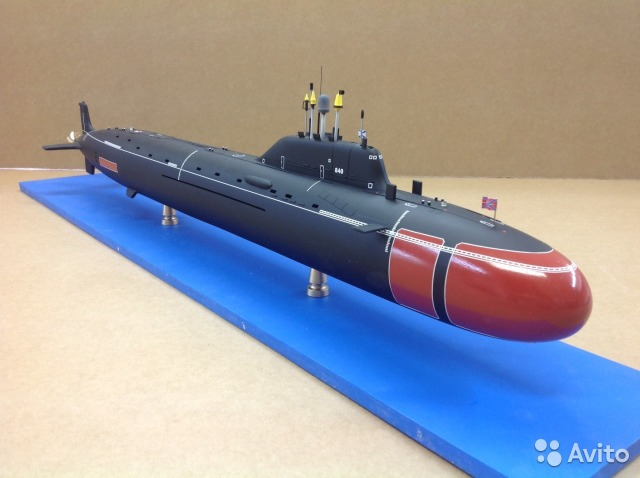 северодвинск модели подводных лодок купить магазин