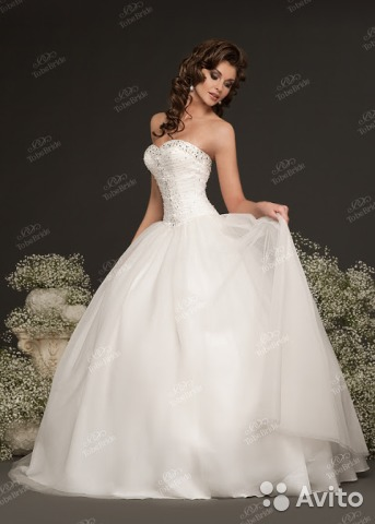 e55484dfae6444f Свадебное платье To Be Bride купить в Санкт-Петербурге на Avito ...