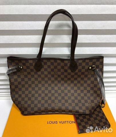 Сумка Louis Vuitton Neverfull Луи Витон Канва купить в Москве на ... 6b3ab3c71c8