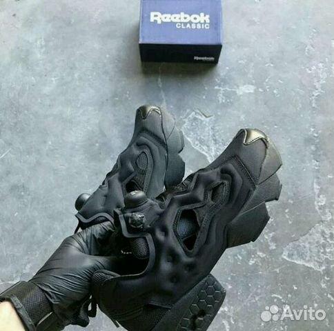 Кроссовки Reebok Insta Pump Fury All Black 36-45  ec7455fb9bf8f