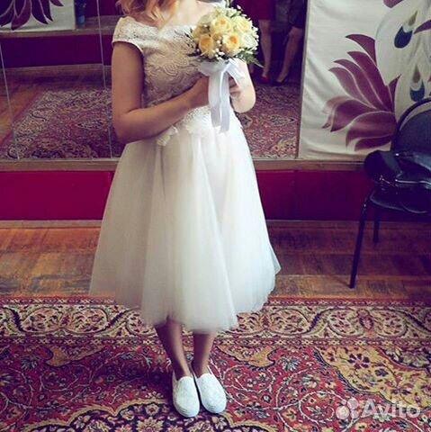 Свадебное платье авито псков
