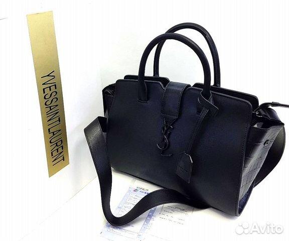 20c191c1f038 Сумка Женская YSL Yves Saint Laurent black | Festima.Ru - Мониторинг ...