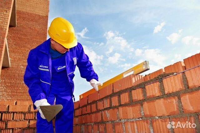 Работа каменщиком в москве на авито