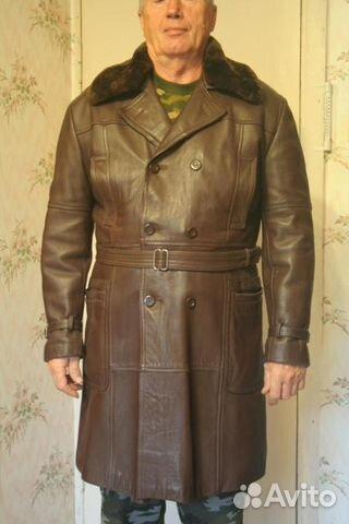 fea55227de0 Демисезонное кожаное пальто осень-зима
