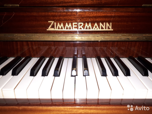 Немецкое пианино Zimmermann купить 3
