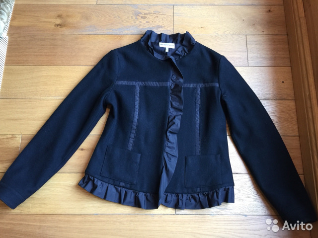 Пиджак чёрный Emporio Armani (Италия) размер 42-44   Festima.Ru ... db77f7c59a4
