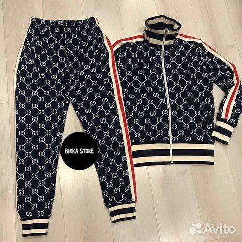 Спортивный костюм Gucci купить в Москве на Avito — Объявления на ... 962ba9fce8a