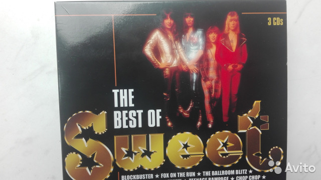 Sweet - The Best 3cd box-set— фотография №1