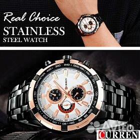 e984dfb6 Кварцевые мужские часы curren 8023 Black | Festima.Ru - Мониторинг ...