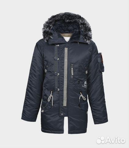 f4a59e9869f Куртка Аляска мужская sapporo steel blue