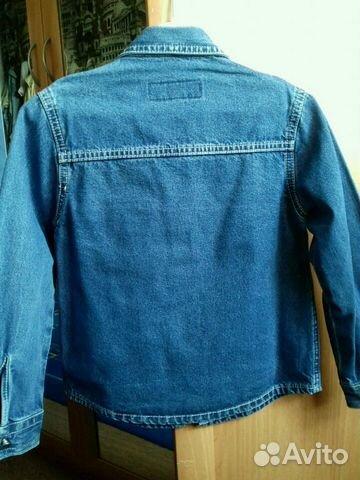 Пиджак-рубашка джинс купить 2
