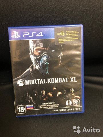 Mortal Kombat for ps4 XL 89133944700 buy 1