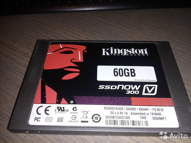 SSD диск Kingston SV300 32Gb (200шт)— фотография №1
