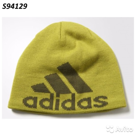 100% authentic 3fcda 7f796 Шапочка adidas knit logo beanie S94129
