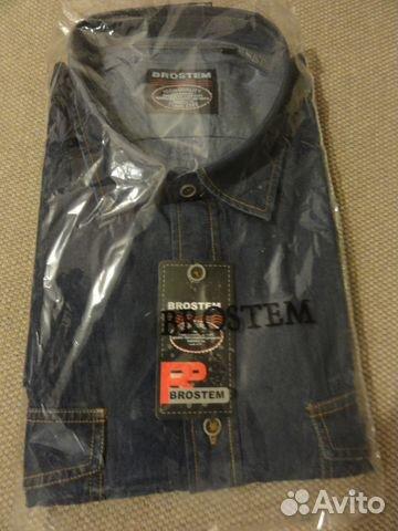 cabe314ffbece0a Рубашка джинсовая brostem новая купить в Самарской области на Avito ...