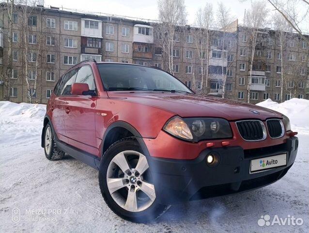 BMW X3 3.0AT, 2004, 300000км