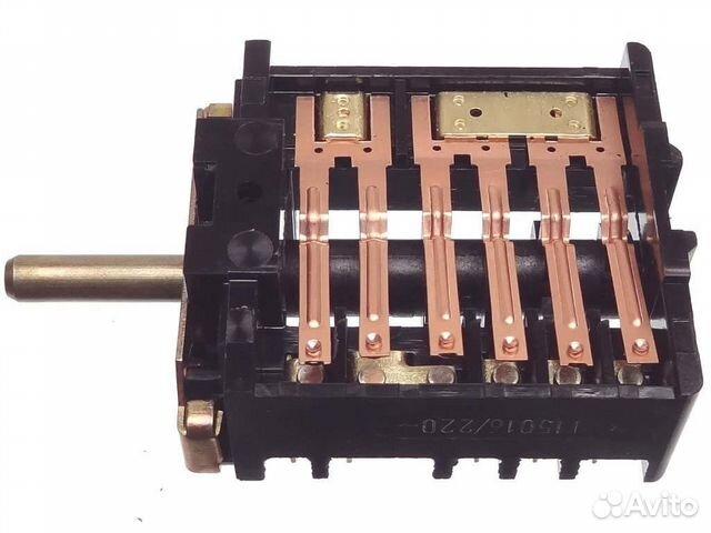 Переключатель плиты пм-16-7-03 (конфорка) 89127344355 купить 2