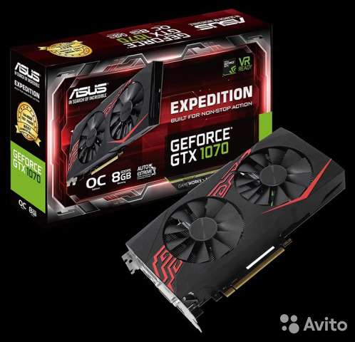 GTX 1070 Asus Expedition