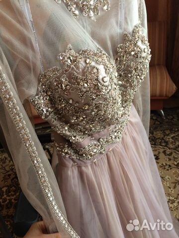 2976947fcf2 Свадебное  вечернее платье 44-48 размер новое