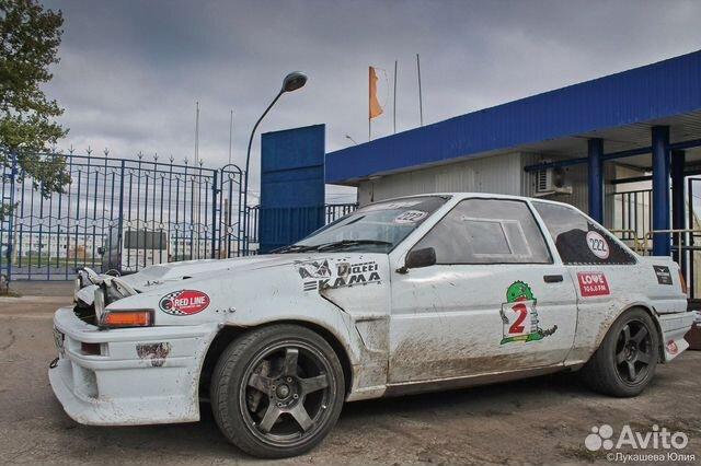 Купить Toyota Sprinter пробег 100 000.00 км 1989 год выпуска