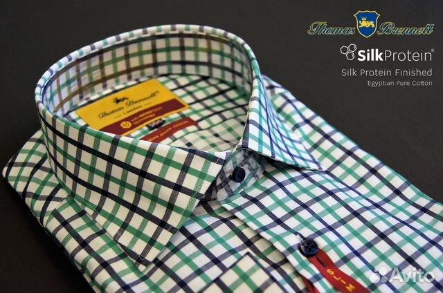 c5aa93dbf92 Мужская рубашка Thomas Brennett Trieste BNY-771-V2 купить в Москве ...