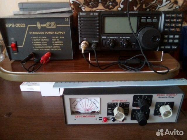 Тюнер Vectronics VC-300DLP, трансивер icom IC-718 купить в