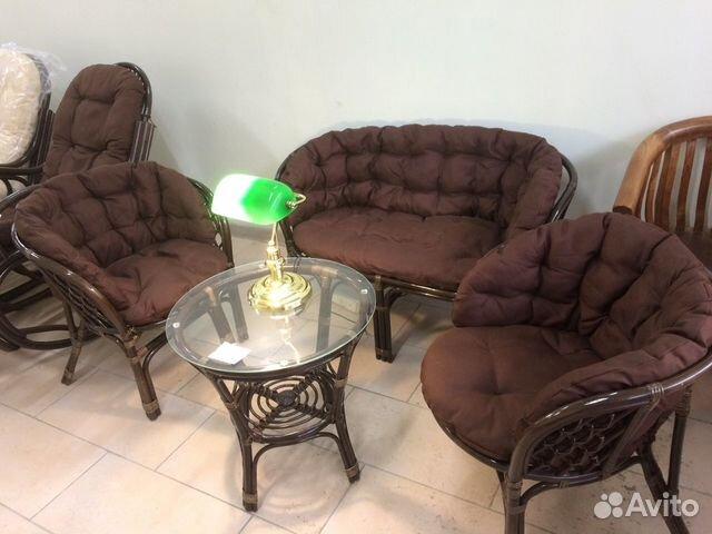 новый комплект мебели из ротанга багама купить в республике