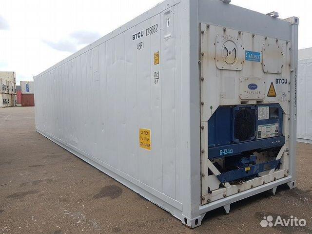 Рефконтейнер 40 ф 2005 год из Красноярска №1286827