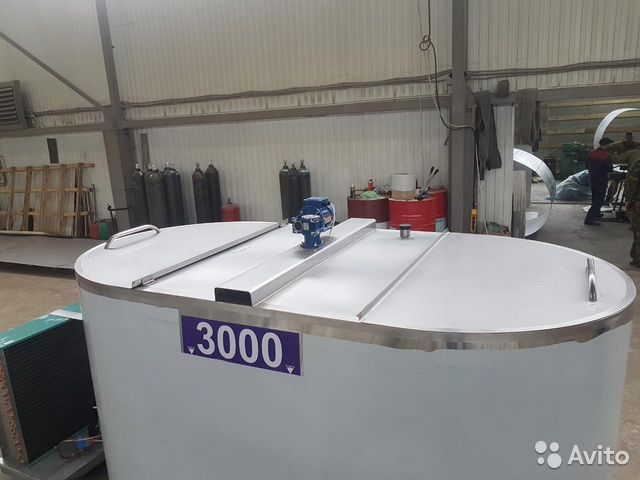 Охладитель молока вертикальный 3000 литров  89220740022 купить 6