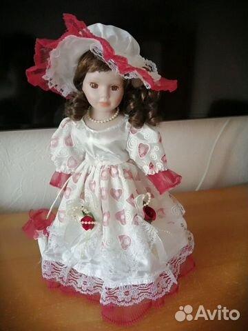 Кукла фарфоровая  89823077177 купить 2